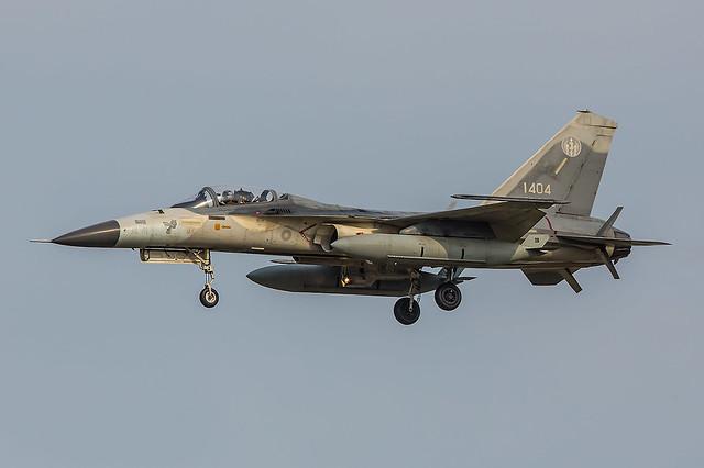 1404, F-CK-1C Republic of China Air Force @ Taichung RCMQ