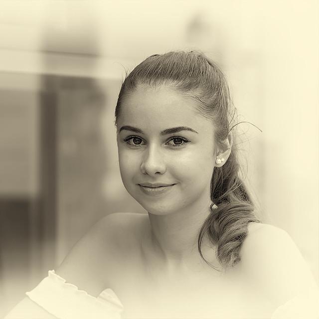 Nice girl portrait (Kitti -portré)