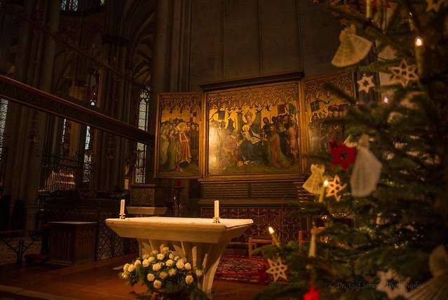 Kommt lasset uns anbeten - Lochner Altar in der Marienkapelle hohen Dom zu Köln