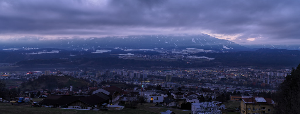 Early morning in Innsbruck