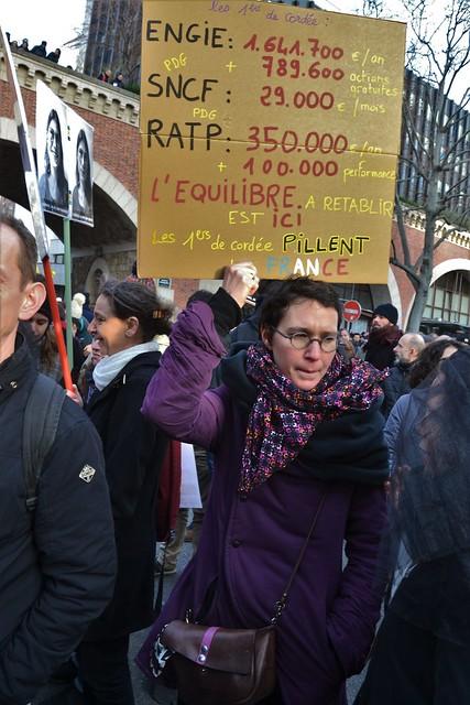 Manifestation du samedi 11 janvier contre le projet de réforme des retraites