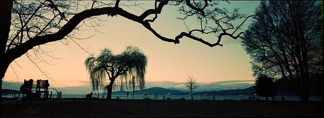Sunset - Film Hasselblad