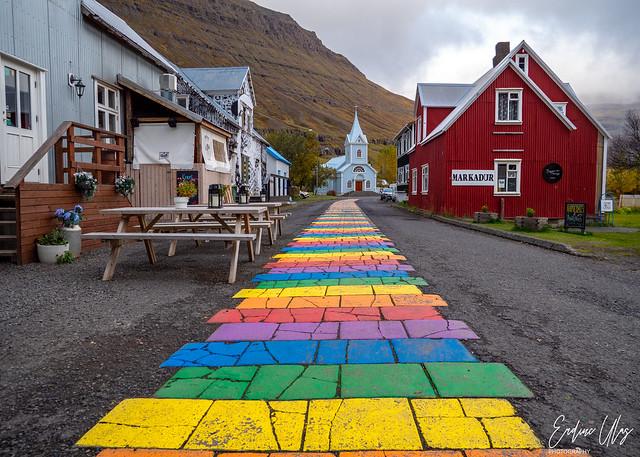 Rainbow Road, Seyðisfjörður