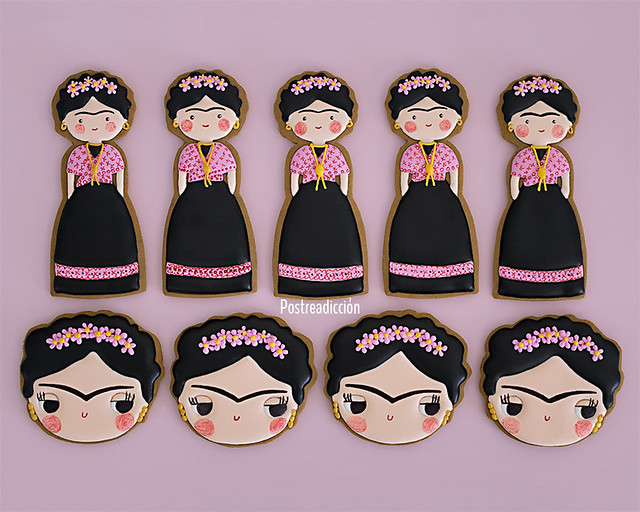 Decorated cookies Frida