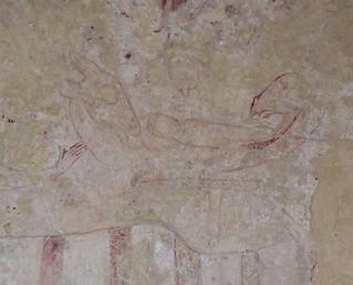 wall paintings: Nativity (13th century)