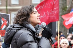 Sadet Karabulut - Demo no war on Iran