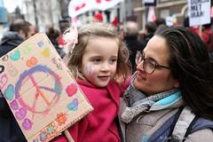 Make peace - No war on Iran demo Amsterdam