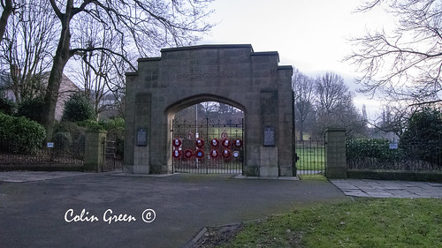 Crow Wood Park Memorial Gates
