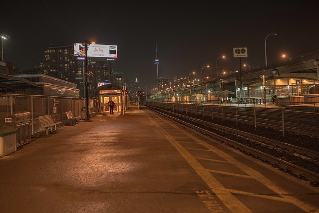 Exhibition Go Train Station,Toronto