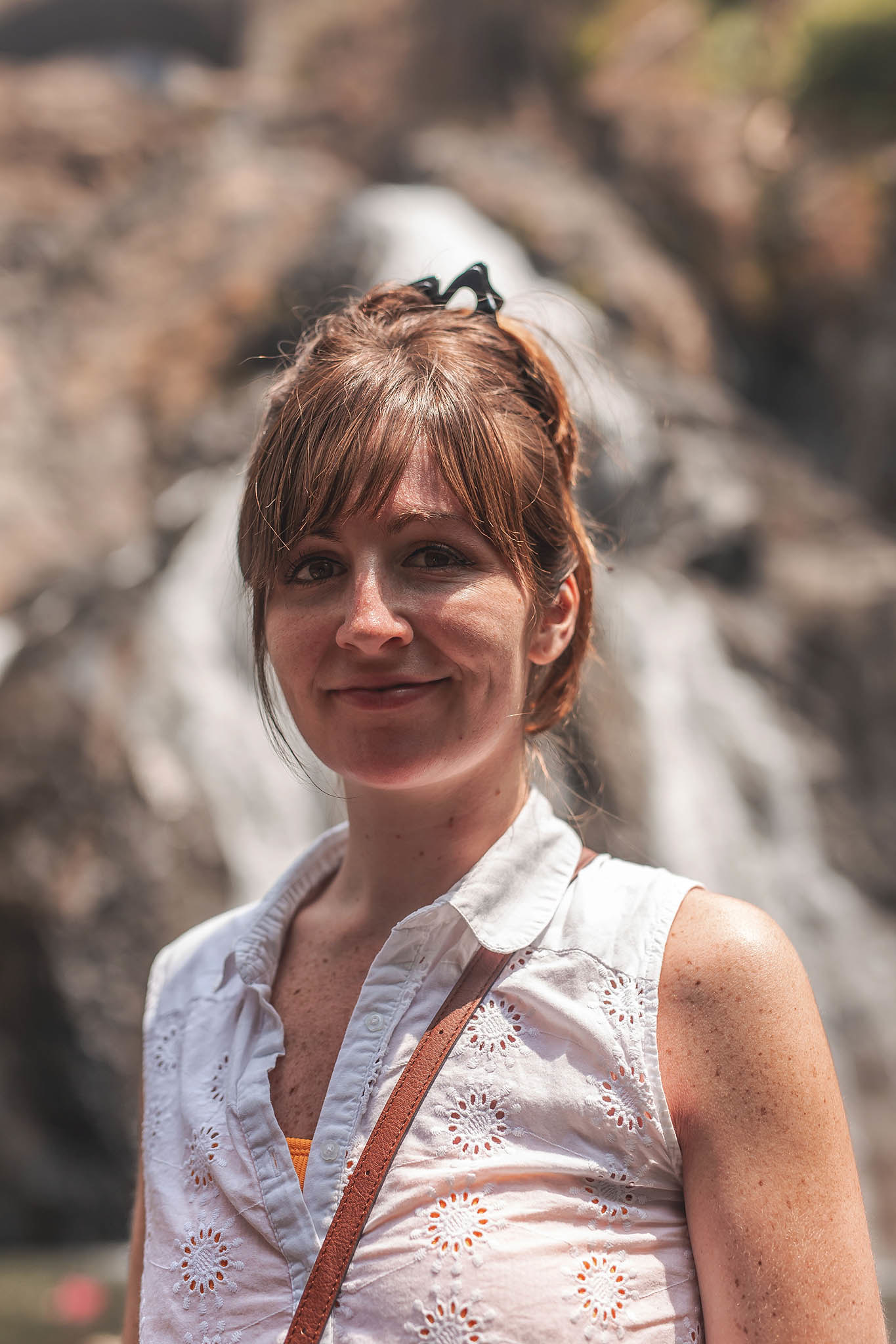 Maddy Watkins - Dudhsagar Falls