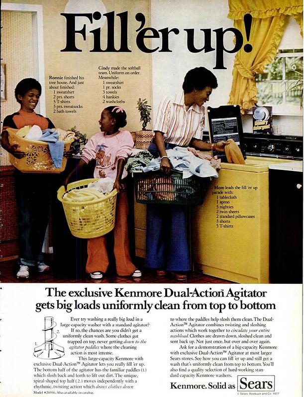 Sears, Kenmore 1977