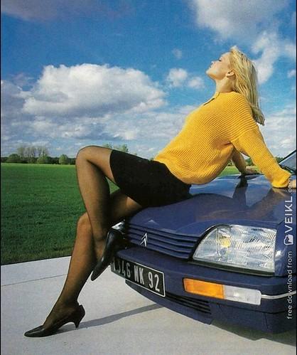 Citroen CX Girls & Cars Photo