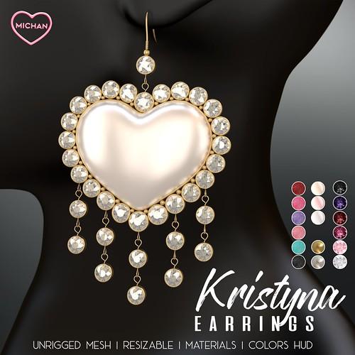 Kristyna Earrings @ ACCESS
