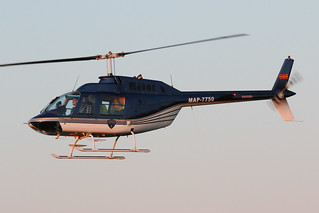 Macedonian Police Agusta AB-206B-2 JetRanger II MAP-7750 ARN 200112