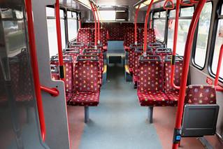 Bus Interior: East Yorkshire Motor Services: 677 YY52LCU Volvo B7TL/Plaxton President