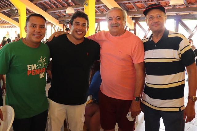 Osmar Filho reúne amigos durante grande confraternização em São Luís