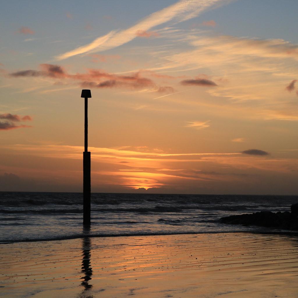 Sunset Light at Elmer Beach