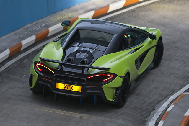McLaren, 600LT Spider,  Tsim Sha Tsui, Hong Kong