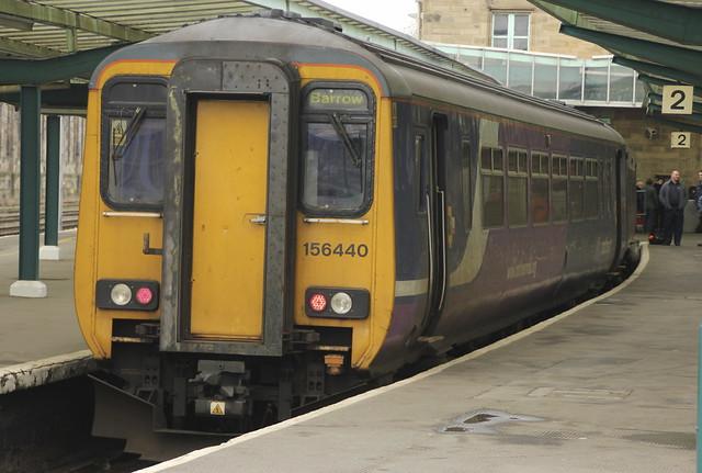 Northern Rail Class 156 156440