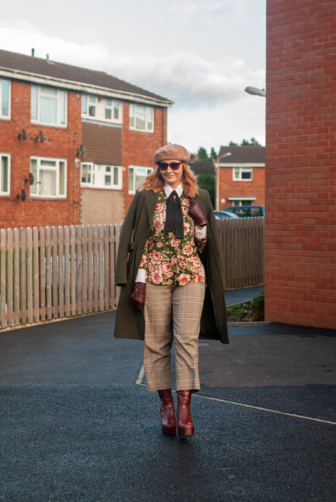 Eclectic Style: Mixed Patterns and Platform Boots | Not Dressed As Lamb, Fashion and Style for Over 40 Women