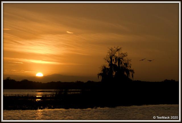 Lake Henderson Sunset