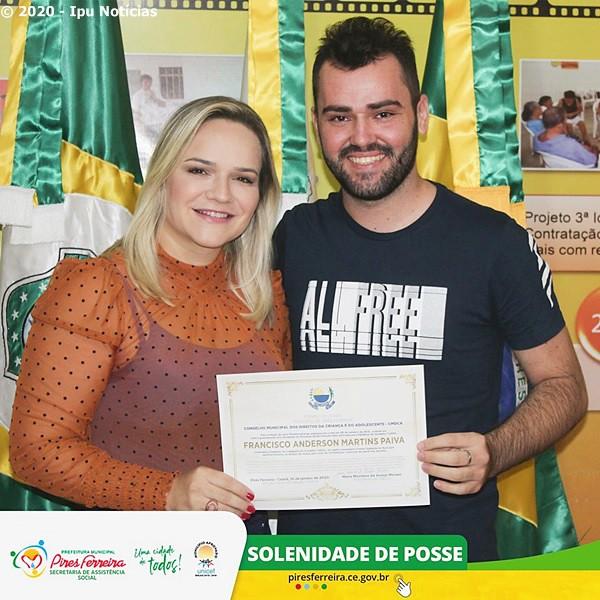 Cerimônia de diplomação e posse do colegiado do Conselho Tutelar de Pires Ferreira