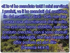 I servitori di Dio avvertono il popolo di Dio