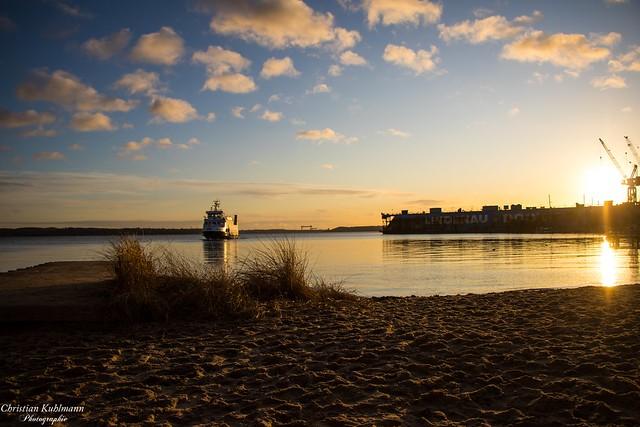Sonnenuntergang / Sundown Kieler-Förde