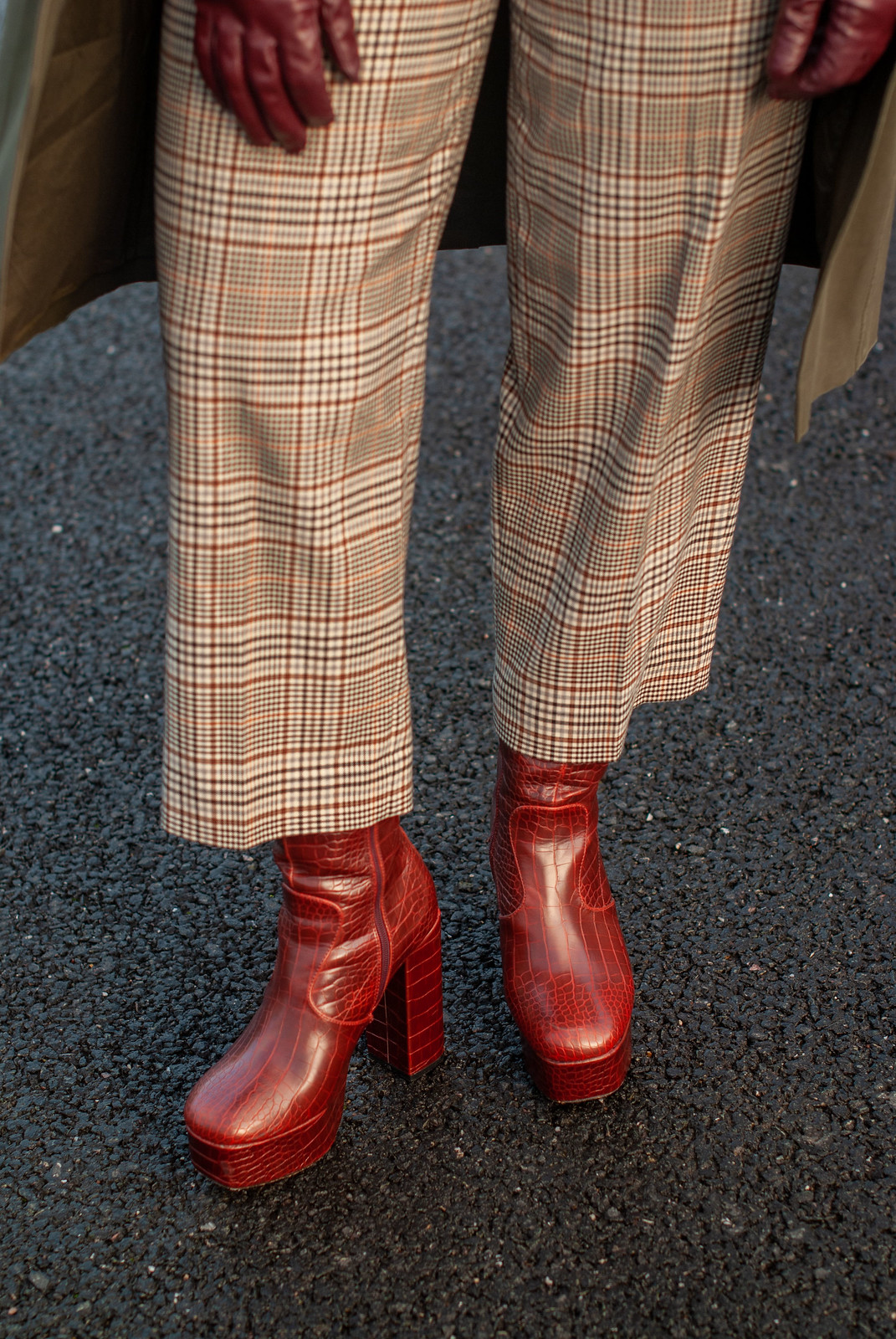 Eclectic Style: Mixed Patterns and Platform Boots   Not Dressed As Lamb, Fashion and Style for Over 40 Women