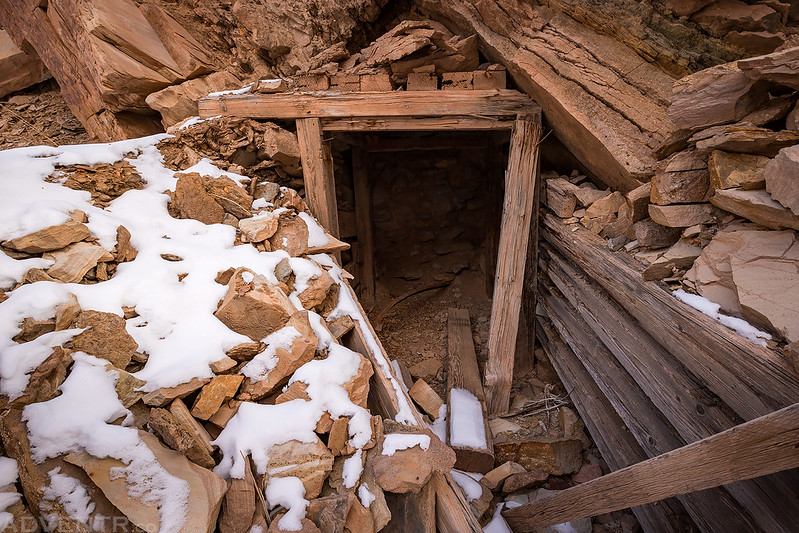 Uneva Mine Shaft