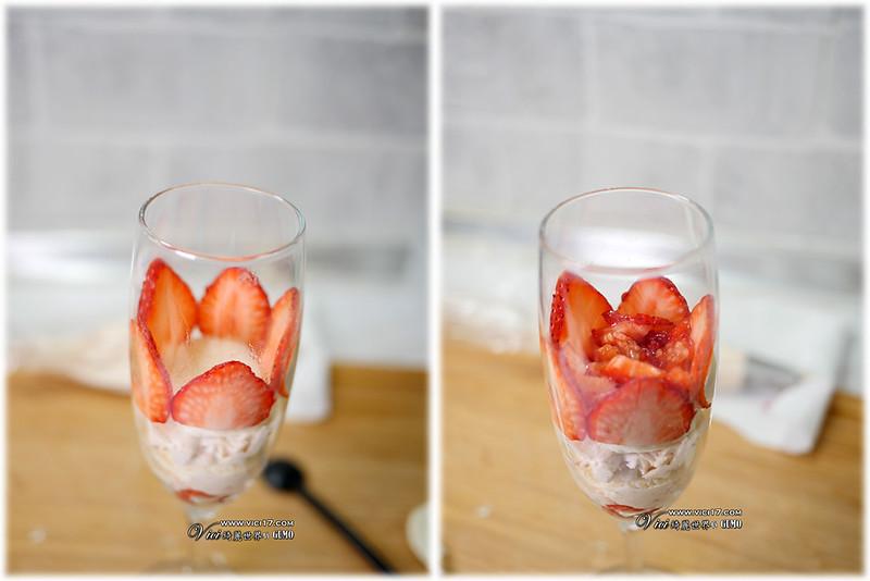 草莓鮮奶油杯907