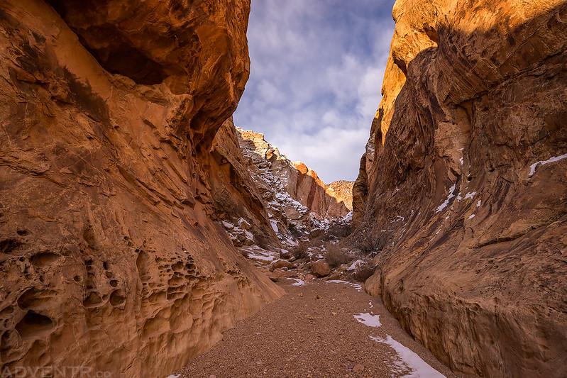 Uneva Canyon Narrows