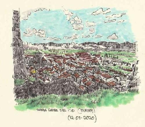 Santa Gadea del Cid (Burgos)