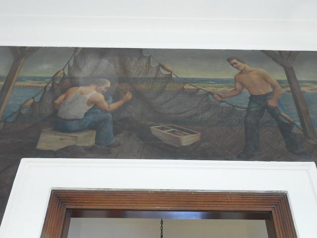 Wildwood NJ Post Office Mural