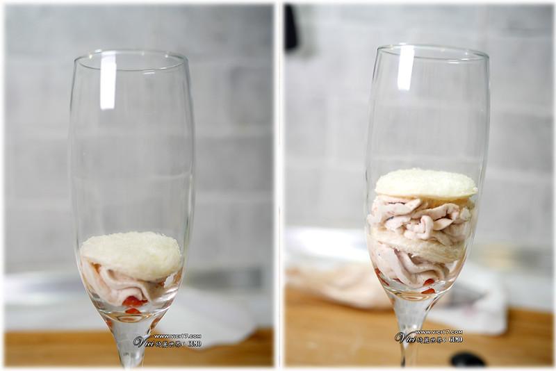 草莓鮮奶油杯906