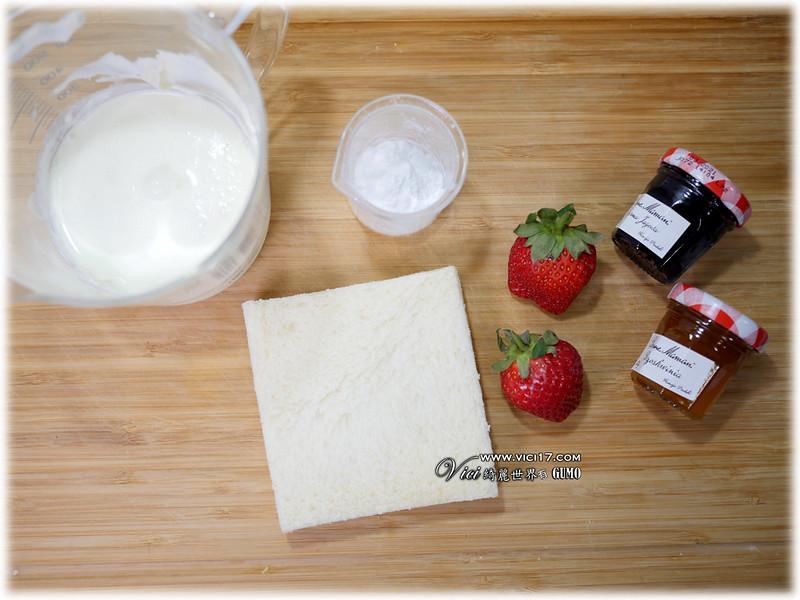 草莓鮮奶油杯003