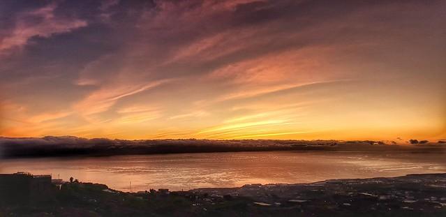 Sonnenuntergang auf Teneriffa...