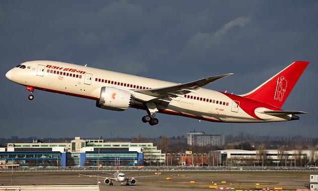 VT-ANP - Boeing 787-8 Dreamliner - LHR