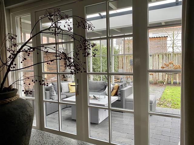 Tuindeuren landelijk loungeset terras