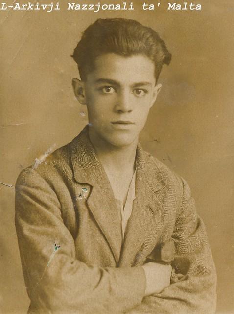 1923 Passport Photo