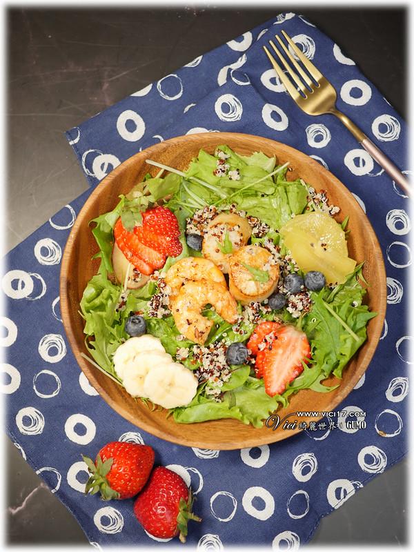 海鮮水果健康餐013