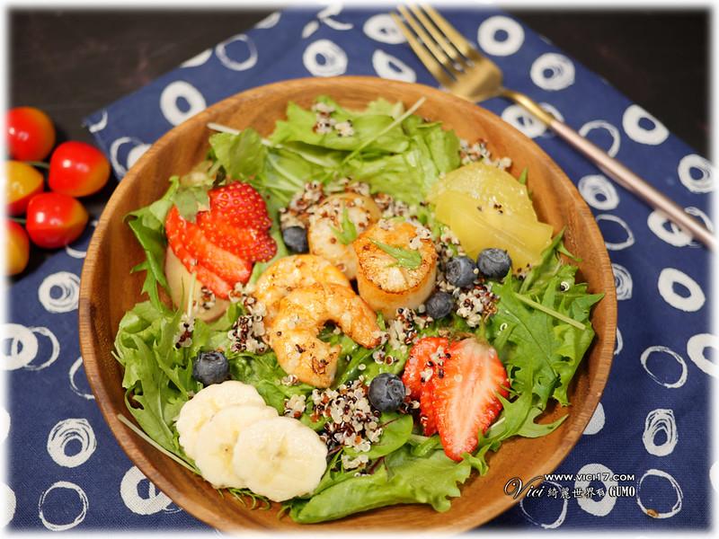 海鮮水果健康餐014