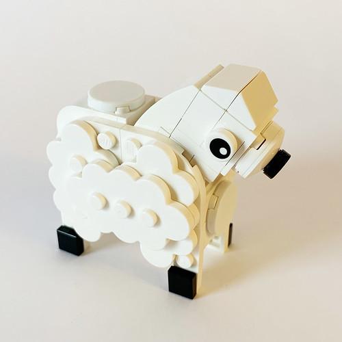 LEGO Dala Horse - Sheep
