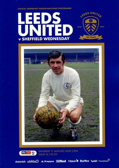 Leeds United v Sheffield Wednesday @ Elland Road, Leeds 11/1/2020