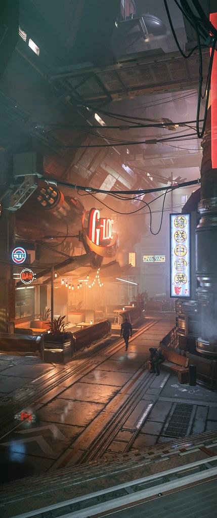Star Citizen | Bar in Area 18