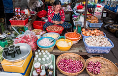 2019 - Vietnam-Avalon-Châu Đốc - 43 - Central Market
