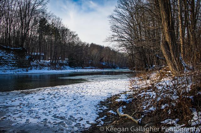New Snow at Elk Creek Legion Park