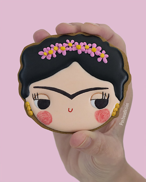 Galletas decoradas Frida Kahlo