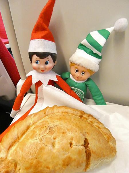 deux lutins et un cornish pasty