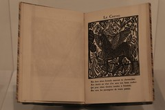 Illustrationer til Appolinaire : Le bestiaire, ou le cortège d'Orphee (1911)
